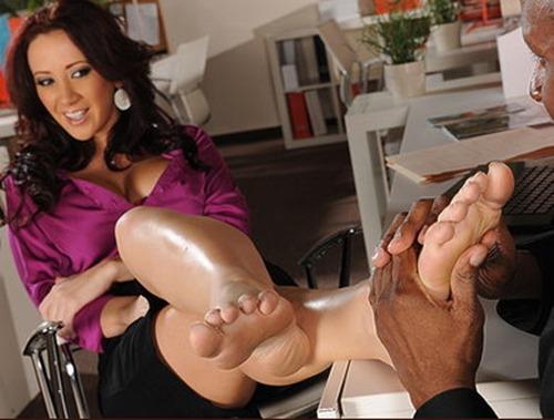 footsie babes office sex